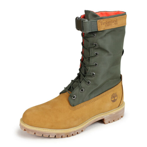 TIMBERLAND MEN/'S RARE LIMITED RELEASE MIXED-MEDIA GAITER BOOTS A1QY8231