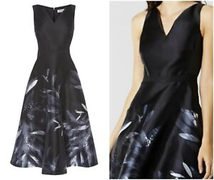 ex-Coast-Floral-Meldrey-Midi-Races-Prom-Formal-Cocktail-Occasion-Dress-RRP169