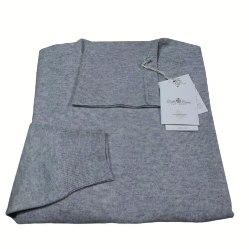 DELLA CIANA maglia uomo collo alto grigio c 80/% lana 20 /% cashmere MADE IN ITALY