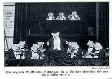Bulldoggen- Musikkapelle Historische Aufnahme von 1910