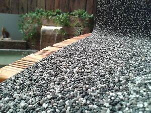 Steinfolie breite 50 cm granit grau teichrand bachlauf for Pool mit teichfolie