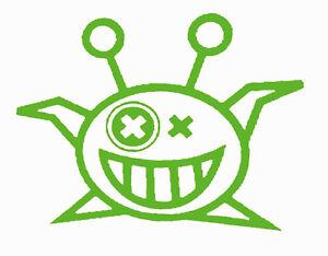 """ALIENS Circle  VINYL Decals Sticker  4/""""W X 4/""""H    BUY 2 GET 1 FREE"""