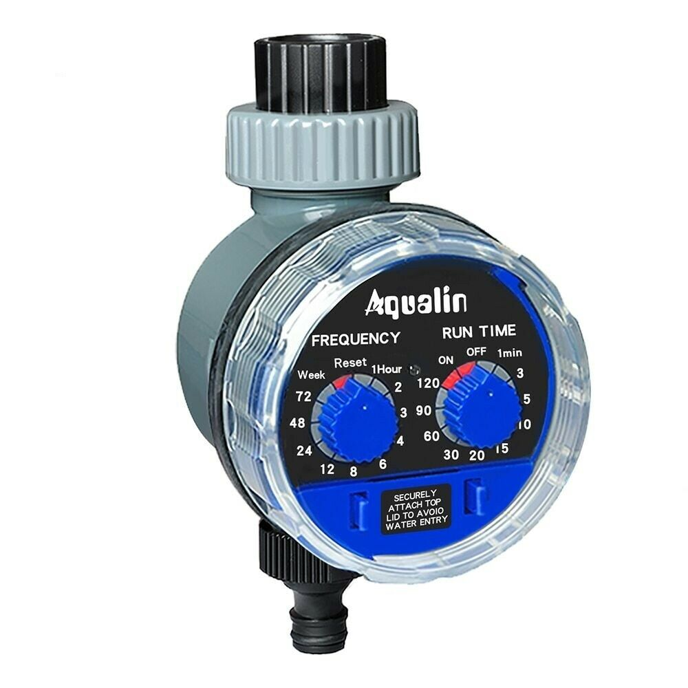 Garden Watering Timer Ball Valve Automatic Electronic Water Irrigation Controll