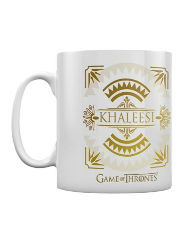 Game of Thrones Mug for Tea or Coffee Khaleesi White