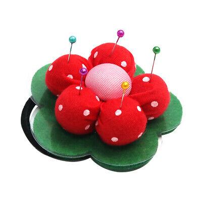 Ball Shape Handmade Pin Cushion DIY Handcraft Cross Stitch Sewing Tools