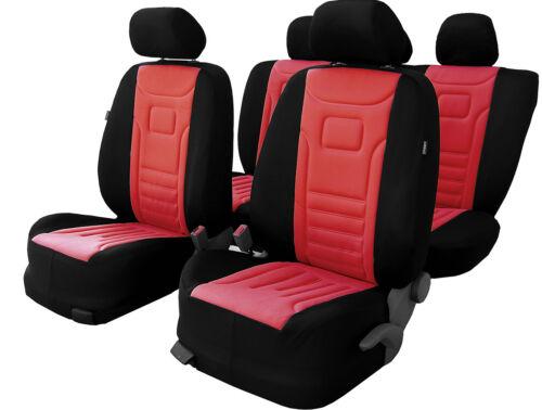 Sitzbezüge Schonbezüge LUX ROT passend für VW