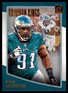 2018-DONRUSS-GRIDIRON-KINGS-FLETCHER-COX-PHILADELPHIA-EAGLES-GK-31-INSERT