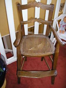 Chaise Haute Ancienne Pour Deco Prix En Baisse