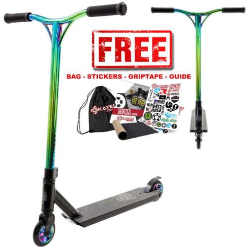 Grey, Blue, Black, Neochrome Blazer Pro Outrun Complete Pro Stunt Scooter