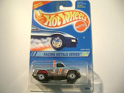 1994 Hot Wheels Racing Metals Series Ramp Truck 337 7SP