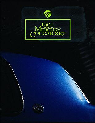1989 Mercury Cougar 24-page Original Car Sales Brochure  XR7 XR-7