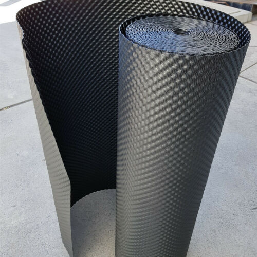 Root Barrier Dimpled 600mm W x 30m L x 1mm thick per roll Australian made