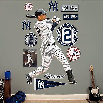 Fanartikel Die Neueste Mode Gelernt Derek Jeter Vermächtnis Yankees 127cm X 188cm Fathead Echt Groß Lebensgröße
