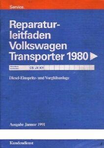 VW-Bus-T3-Reparaturleitfaden-Diesel-Motor-Einspritzanlage