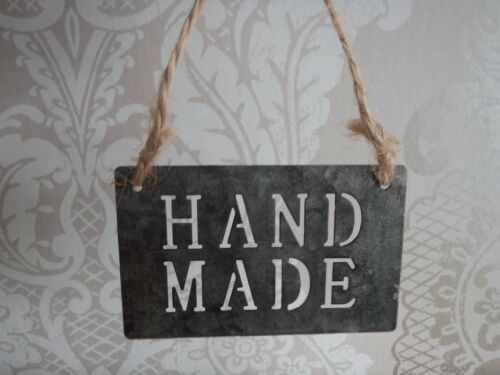 East of India Small Hand Made Metal Sign Crafts Hand made Fates
