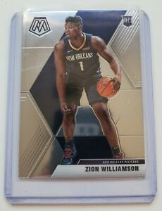 2019-2020-Panini-Prizm-Mosaic-Base-Zion-Williamson-Rookie-RC-209
