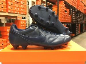 23bfad1280cb1 Details about Nike Men's Premier II FG Soccer Cleats (Midnight Navy Blue)  Size: 6-12 NEW!