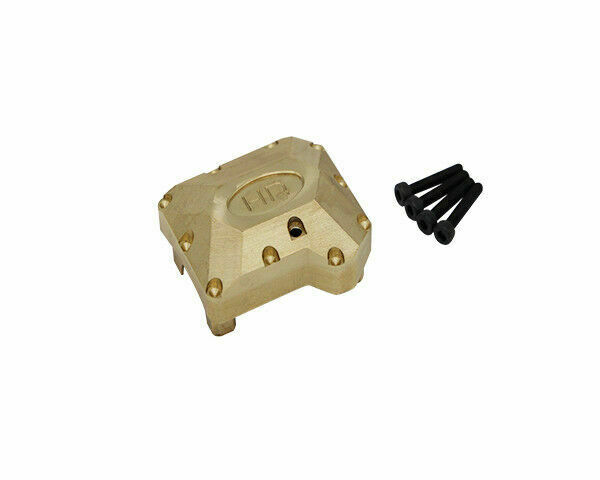 COLOR TREE Brass Axle Diff Cover for Hot Racing Traxxas TRX-4 Front or Rear Axle