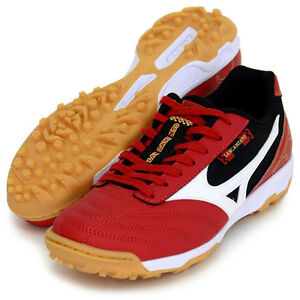 Mizuno-JAPAN-LANCAMENTO-SL4-TF-Indoor-Soccer-Football-Futsal-Shoes-Q1GB1523-Red
