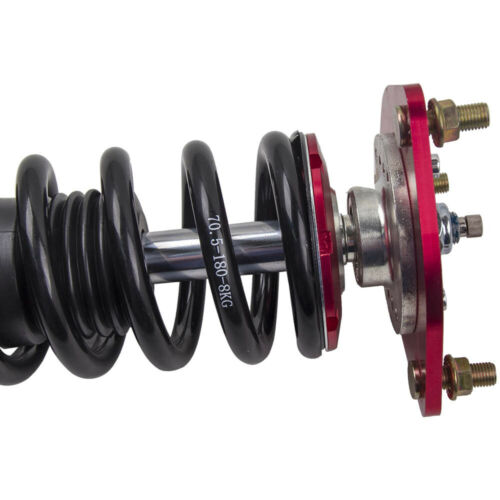 Damper Racing Kits Shocks Details about  /Coilovers for Nissan 94-98 240SX S14 Silvia Adj
