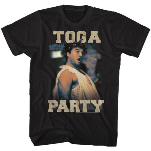 Animal House Tall T-Shirt Toga Party Animal Black Tee