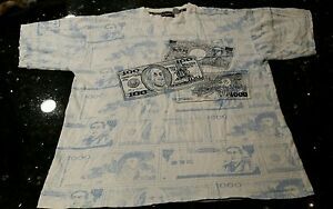 Details about 212 NYC TANGLEWOOD CORP $100 BILL TSHIRT SZ XL