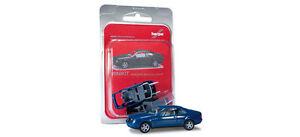 Herpa-012546-Herpa-MiniKit-Mercedes-Benz-CLK-Coupe-Blue-1-87-Scale-PL