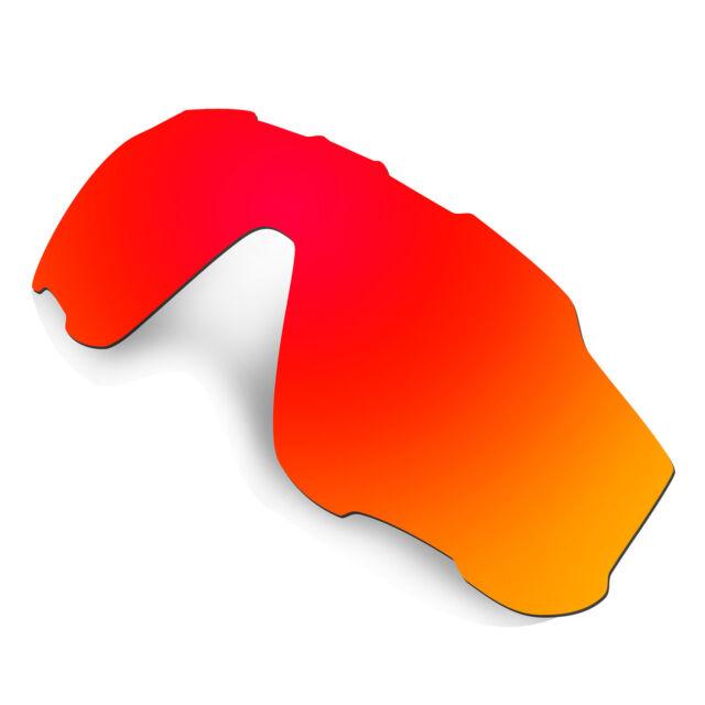 91d559df29 Hkuco Red Polarized Replacement Lenses for Jawbreaker Sunglasses