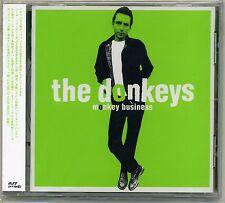 Donkeys - Monkey Business CD Powerpop Fast Cars Fans Private Dicks Small World
