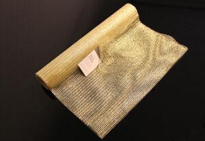 Glitzernder Tischläufer golden, Tischdeko, Tischband, Gold, Länge ca. 5m, lumée