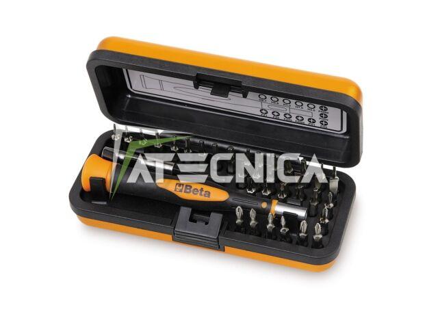 Set microgiravite Beta Tools 1256/C36-2 micro giravite 36 pz cacciavite