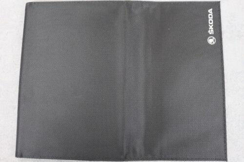 Farbe Bedienungsanleiteung SKODA  Bordmappe für Betriebsanleitung Schwarz