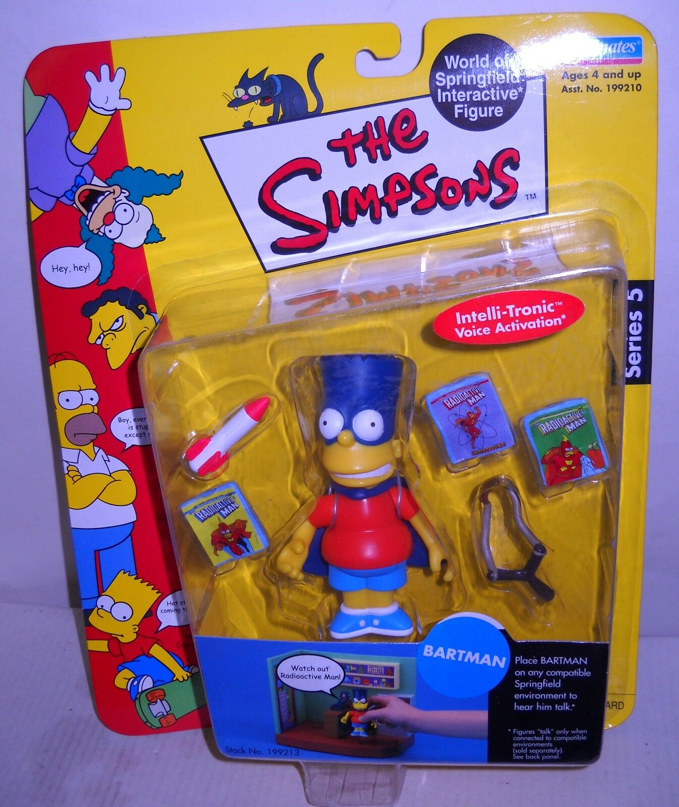 NRFC Playmates the Simpsons Bartman Figure Series 5