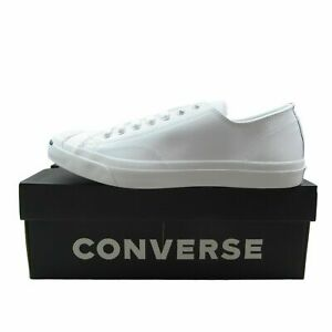 Converse-Jack-Purcell-LEA-OX-White-Leather-Casual-Shoes-1S961-Mens-Multi-Size