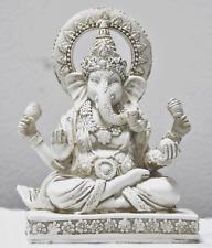 Rare Lord Ganesh Ganesha Beautiful Statues Hindu Good Luck God - 4.5 Statues