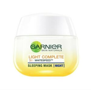 GARNIER Light Complete White Speed Yogurt Sleeping Mask Night 50ml