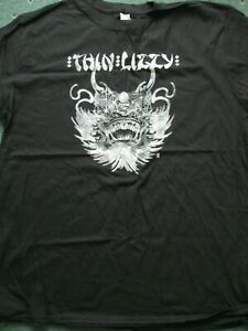 Thin-Lizzy-039-China-Town-039-T-Shirt-NEW-amp-OFFICIAL-Size-XL