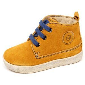 Image is loading E7368-sneaker-bimbo-yellow-FALCOTTO-NATURINO-scarpe-primi- f28a5824913