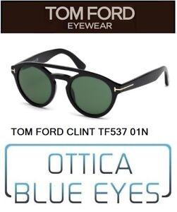 03112345c0b31 TOM FORD UOMO CLINT TF 537 01N Sunglasses солнцезащитные очки Made ...
