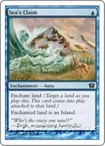SEA/'S CLAIM Ninth Edition MTG Blue Enchantment — Aura Com