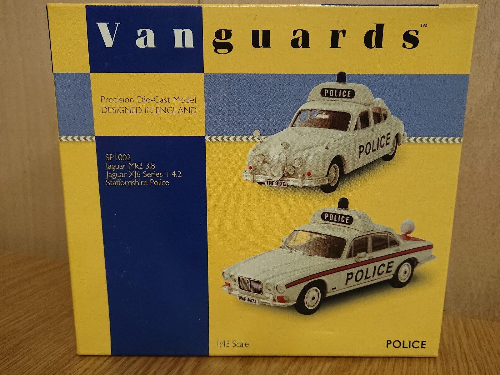 Corgi SP1002 Twin set Jaguar Mk2 3.8 & XJ6 S.1 4.2 Staffs. Police Factory Sample