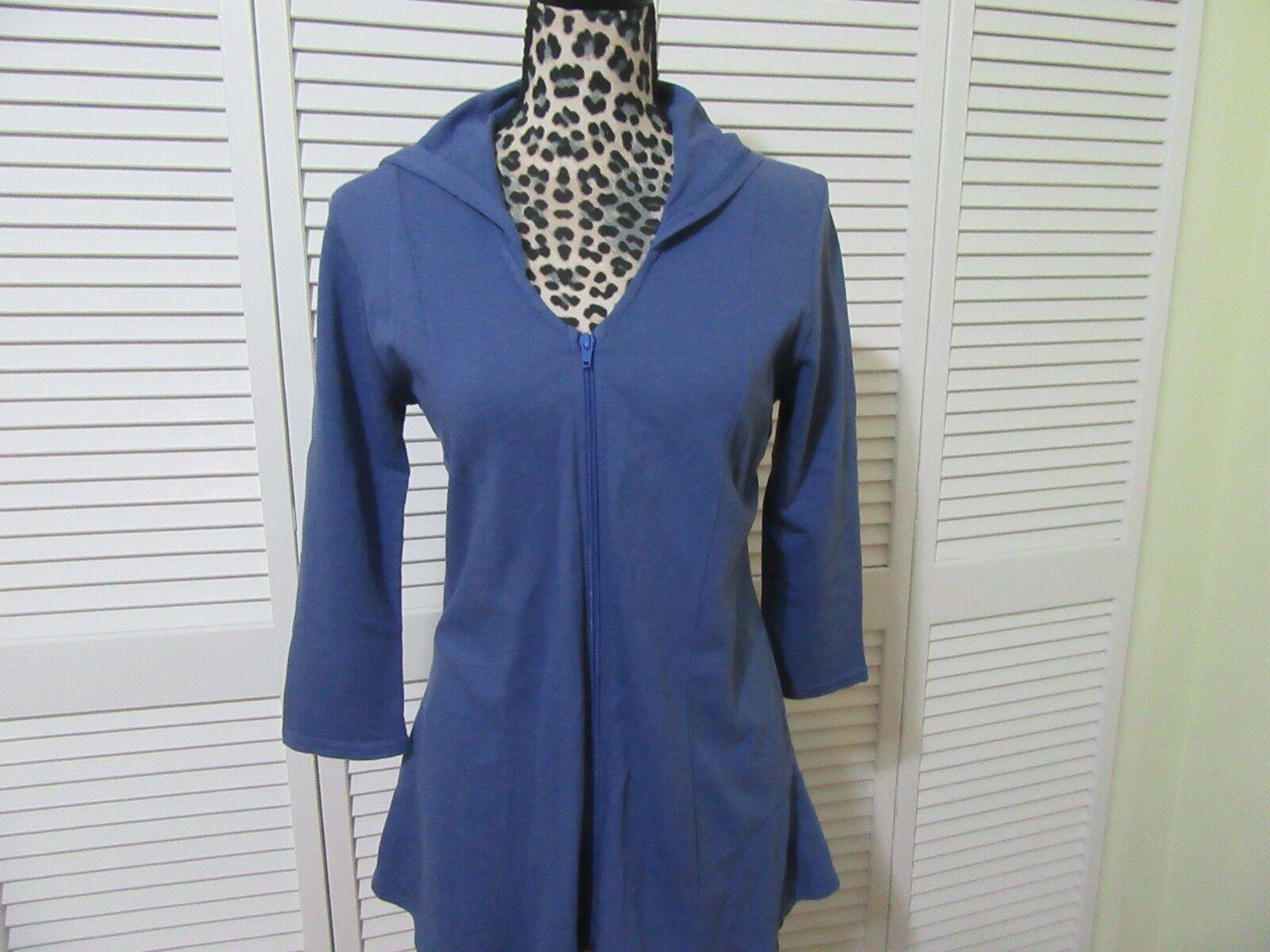 Hot Cotton Hoodie Jacket,oben daMänner Petite S,Full zipper,hoodie, slightly fitted