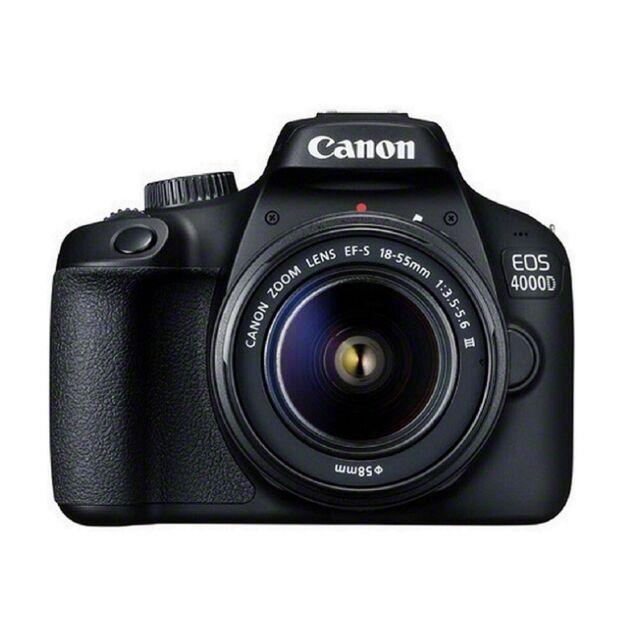 ORIGINAL Cámara Canon EOS 4000D KIT 18-55 DC III (NUEVO con Garantía)