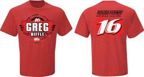 Greg Biffle 2015 Checkered Flag Sports #16 Ortho Fan Up Tee FREE SHIP!