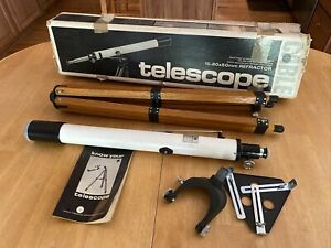 Vintage CABLE Refractor Telescope 15-60x50mm - Quality Made in Japan