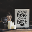 I/'m here for The Boos Halloween Stencil Durable /& Reusable Mylar Stencils