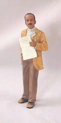 Resin Doll - Samuel ( man with newspaper) 3068    1/12 scale Houseworks