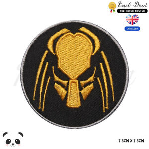 Predator-Movie-Logo-Embroidered-Iron-On-Sew-On-Patch-Badge-For-Clothes-etc