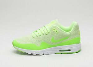 Details about Nike Air Max 1 Ultra Moire Wmn's Ghost GreenElectric GreenWhite uk5