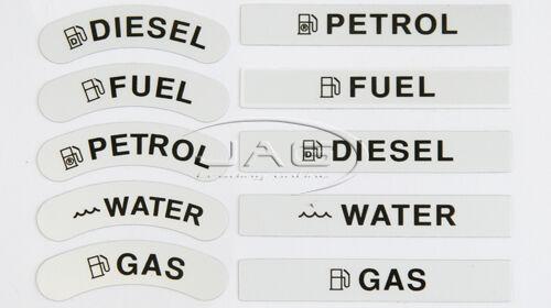 WHITE NYLON BOAT DECK FILLER Petrol//Fuel//Gas//Water//Diesel Tank Deck Fill Cap